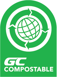 GC Compostable product label